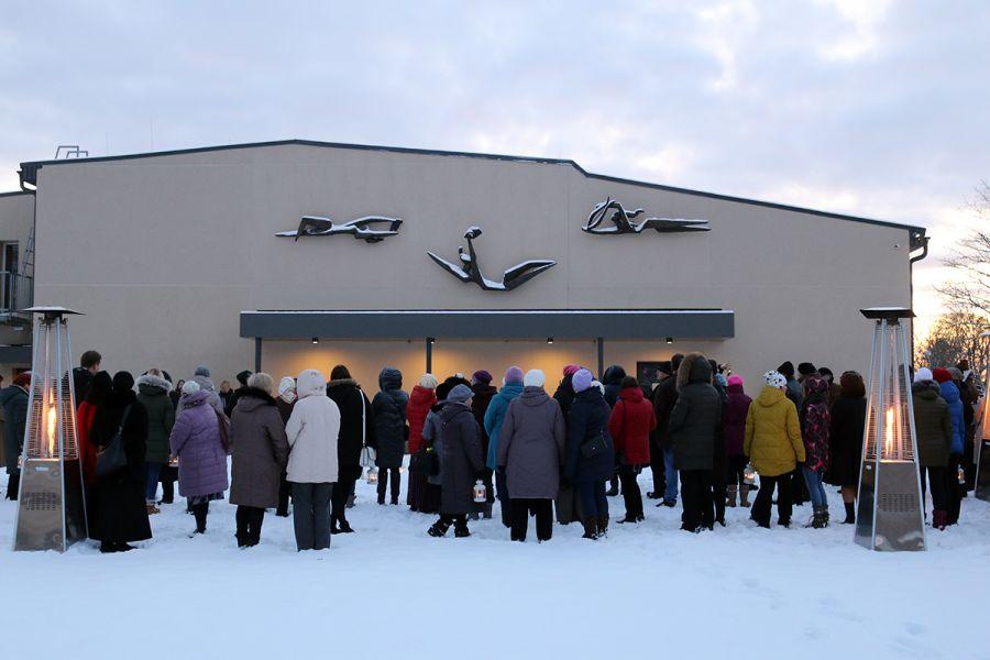 """Aivara Gulbja skulptūru kompozīcija """"Trīs mūzas"""""""