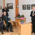 Kultūras ministre Žaneta Jaunzeme-Grende, KM Valsts sekretārs Guntis Puķītis, TMR direktore Anna Jurkāne