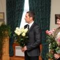 Siguldas novada domes priekšsēdētājs Uģis Mitrevics un Kultūras pārvaldes vadītāja Jolanta Borīte