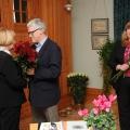 TMR direktore Anna Jurkāne un TMR Pieminekļu un kultūrvides daļas vaītājs Dainis Linmeijers un Krājuma un ekspozīciju daļas vadītāja Vija Stikāne