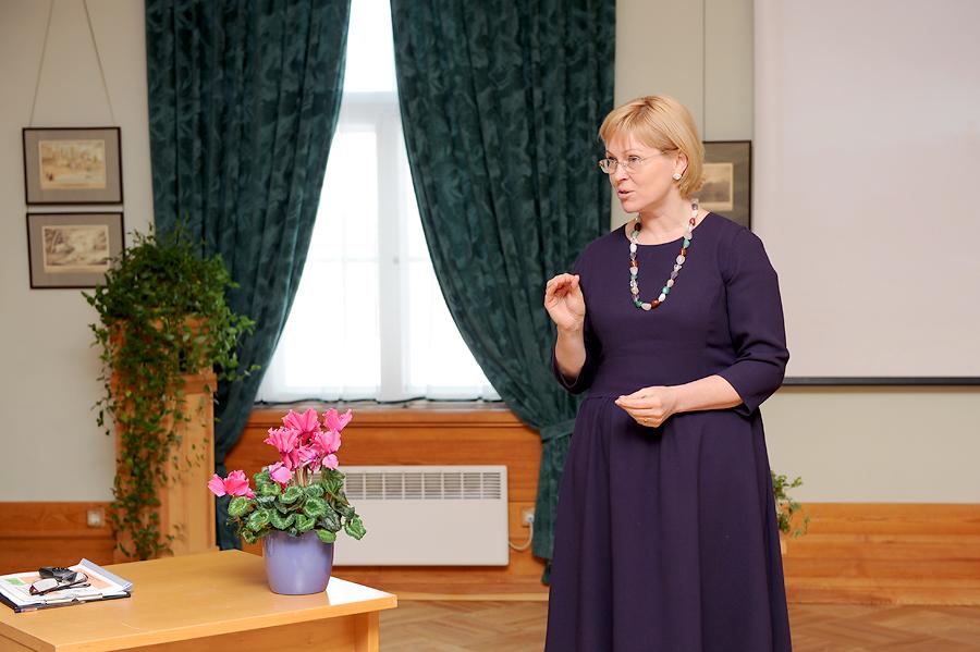 Kultūras ministre Žaneta Jaunzeme-Grende