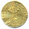 Lībekas zelta dukāts 1625. gads, Turaidas pils. SM 8122a