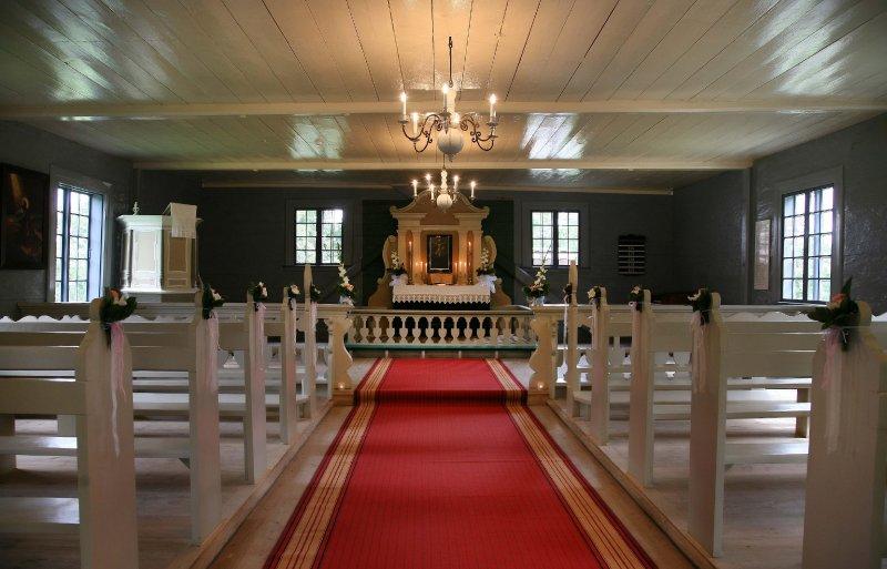 Turaidas baznīca. Iekšskats