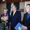 No labās: Sandis Laime, Feliks Ungers un Anna Jurkāne