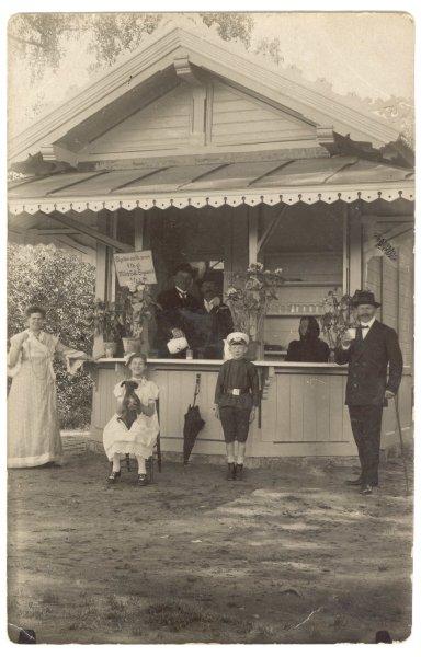 Siguldas muižas piena kiosks 20. gadsimta sākumā, SM 5321