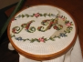Embroidery together with supervisor\'s wife