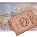 Pētera Mantnieka kartogrāfijas institūta 20. gadsimta 30. gadu izdevums Lielā Latvijas karte, TMR 15802