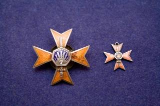 Latvijas armijas Siguldas 7. kājinieku pulka lielā un mazā krūšu nozīme.