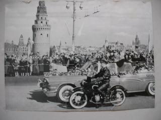 Kosmonauta Jurija Gagarina sagaidīšana Maskavā