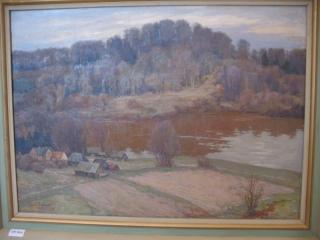 Glezna - Zeberiņš I. Siguldas ainava