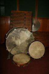 Turaidas lauku kapelas mūzikas instrumenti