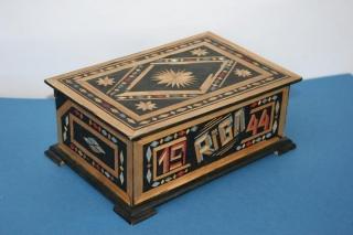 Rokdarbu kastīte. 1944. gads