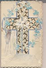 Apsveikums iesvētībās. 1906. gads