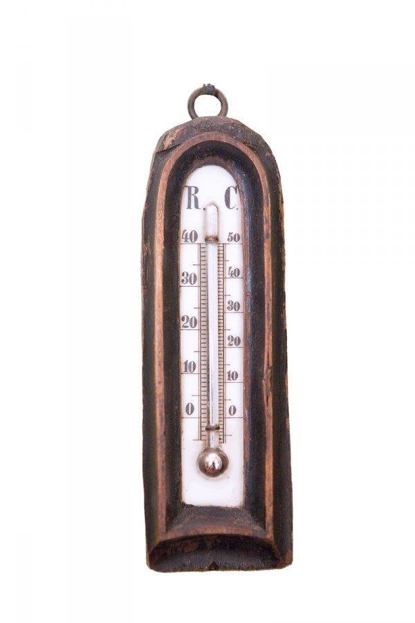 Termometrs istabas gaisa temperatūras mērīšanai Reomira un Celsija sistēmā. TMR plg 7681