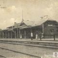 Siguldas senākā dzelzceļa stacija. 19. gadsimta beigas/ 20. gadsimta sākums. Pastkarte. SM 6551