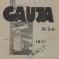"""Siguldas pilsētas valdes izdotais žurnāls """"Gauja"""", Nr. 5-6, maijs – jūnijs, 1936. gads. TMR 26391"""