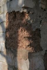 Klaušenieku mājas māla kleķa siena