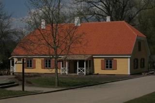 Restaurēta Turaidas muižas pārvaldnieka vecā dzīvojamā māja