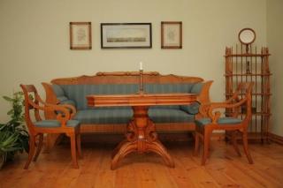 Bīdermeiera stila sofas grupa