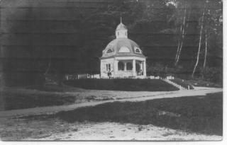 Turaidas muižas piena paviljons pie Gūtmaņalas, uzcelts 1910. g.