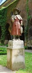 Svētā Jēkaba skulptūra Brēmes Doma pagalmā, izgatavota ap 20.gs. vidu.