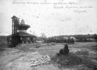 1912. g. uzceltais jaunais kaļķu ceplis muižas kaļķu lauztuvē