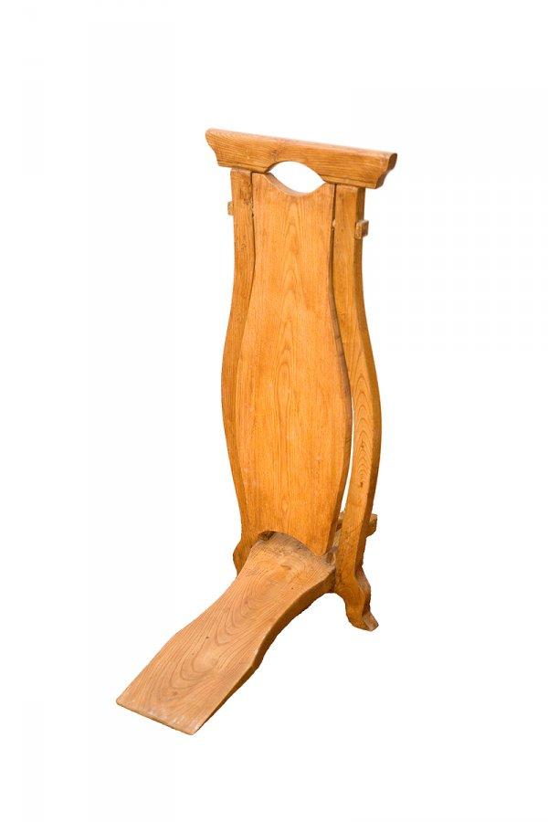 """Zābaku novelkamais """"kalpiņš"""" no lakota masīva oša koka. TMR 25102"""