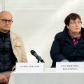 Gvido Straube un Aija Priedīte-Kleinhofa