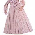 Pārvaldnieka sievas kleita, 19. gadsimta bīdermeiera stila atdarinājums, TMR plg 7494