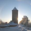 Halo saule ap Turaidas pili