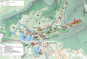 Karte des Musemsreservats
