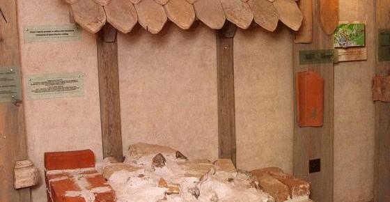 Pils celtniecībā izmantotie būvmateriāli no māla