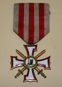 III šķiras Lāčplēša Kara ordenis Nr. 2072. Averss