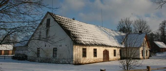 Stallis - kūts Turaidas muižas saimnieciskajā centrā