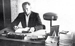 Jānis Graudonis – Ikšķiles Elkšņu 6-klasīgās skolas pārzinis. 1939. gads