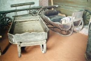 Ragavas un kamanas no Turaidas muzejrezervāta krājuma