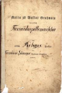1816. gada Turaidas muižas vaku grāmata