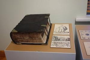 Bībele, kas izdota Nirnbergā (Vācija) 17. gadsimtā.