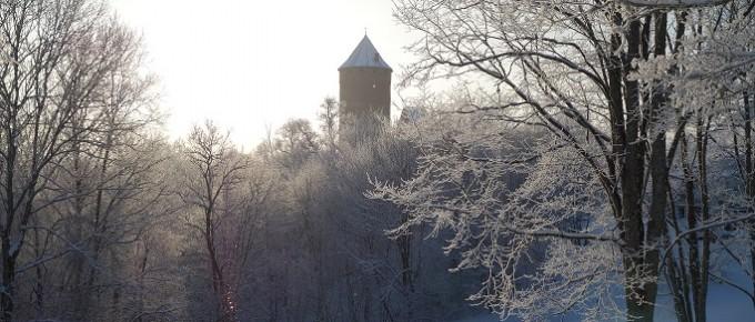 Turaida ziemā