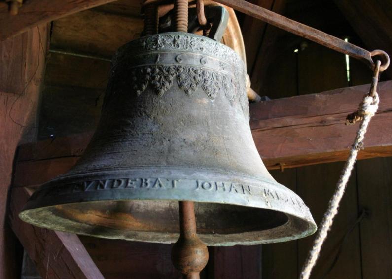 Turaidas baznīcas zvans, izgatavots Rīgā 1663.gadā