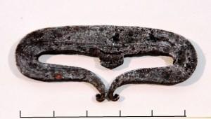 Turaidas pilskalnā atrast šķiļamdzelzs, 11.-12.gs. TMR krājums