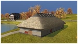 Klaušinieku mājas vizualizācija