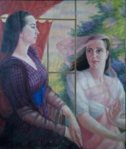 Divas sievietes (Turaidas skolas skolotājas). TMR 24104
