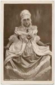 """Paula Baltābola Dailes teātra izrādē """"Mirabo"""" 1920. gadu vidū"""