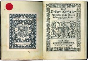 Разворот книги и титульный лист