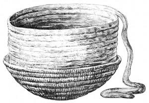 Poda lipināšana no māla sloksnītes