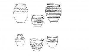 Izplatītākie 10.-11. gadsimta slāvu keramikas tipi pēc Ļubora Niderles pētījumiem