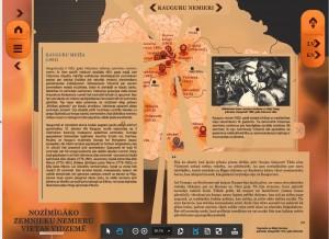 """Fragments no digitālās programmas skices par Kauguru nemieriem. Sagatavojusi Līva Smildzere. Krievijas impērijas un Vidzemes guberņas pārvalde baidās, ka Kauguru nemieri var izvērsties par visas Vidzemes zemnieku sacelšanos, tāpēc pieliek visas pūles, lai tos apspiestu. Kaugurmuižā ierodas Zemes tiesnesis barons Vilhelms Frīdrihs fon Ungerns-Šternbergs un 120 karavīri no Taurijas grenadieru pulka. Tas zemniekus nenobiedē un 7.–8. oktobrī kauguriešiem pievienojas arī Kokmuižas, apkārtējo muižu dzimtļaudis no Raunas, Liepas un citām vietām. Sapulcējas ap 3000 zemnieku, kuri nostājas pret 120 karavīriem. Solot sūdzību uzklausīšanu un sarunas ar gubernatoru, grenadieru pulka komandieris majors Kapustins iegūst laiku, lai atsauktu papildspēkus Valmieras, Cēsīm un Rīgas. Ierodas ap 700 karavīru un pret dumpiniekiem tiek raidīti divi lielgabalu šāvieni. Četrus nemierniekus nogalina uz vietas, septiņpadsmit – ievaino, no kuriem vairāki vēlāk nomirst. Par zemnieku musināšanu Mujānu muižas sulainis Gothards Johansons, tās pašas muižas kučieris Kārlis Bušs, kā arī Kokmuižas """"Vīteļu"""" mājas saimnieks Pēteris Pētersons un kalps Jānis saņem smagus miesas sodus un tiek izsūtīti uz Sibīriju. Kauguru nemieri Vidzemes muižniekiem liek apjaust, ka jāmaina gadsimtos ierastais saimniekošanas modelis. Valdošās elites bailes no jaunas sacelšanās ir viens no faktoriem, kas veicina 1804. gada Zemnieku likumu izdošanu un dzimtbūšanas atcelšanu Vidzemē 1819. gadā."""