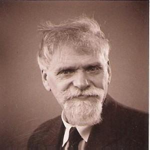 Teodors Zaļkalns (Grīnbergs 30.11.1876-06.09.1972.) 20. gadsimta vidus. Foto no Latvijas Nacionālā mākslas muzeja krājuma
