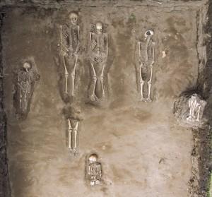 Overview of burials